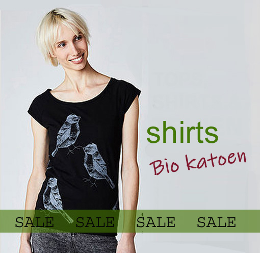 dames shirts tops bio katoen fairtrade