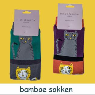 bamboe damessokken