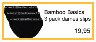 bamboo basics aanbieding