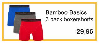 bamboo basics boxershorts heren