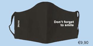 mondmasker zwart