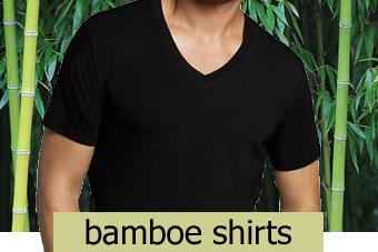 bamboe shirts heren