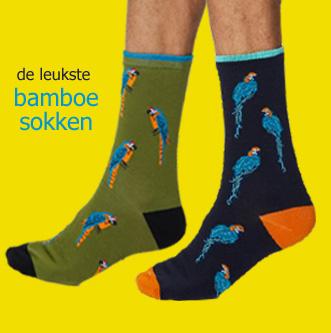 bamboe heren sokken