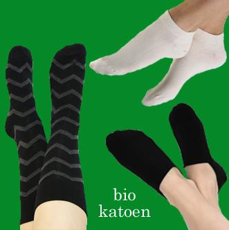 heren sokken biologisch katoen