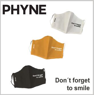 Phyne mondmasker bio katoen