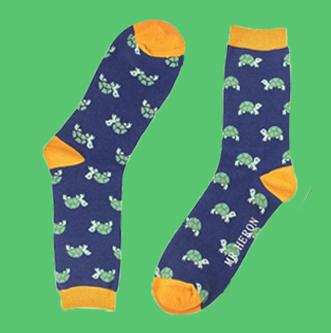 Mr Heron heren sokken bamboe