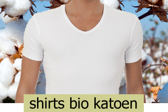 shirts bio katoen heren
