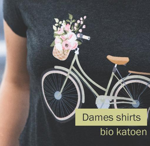 dames shirt bio katoen