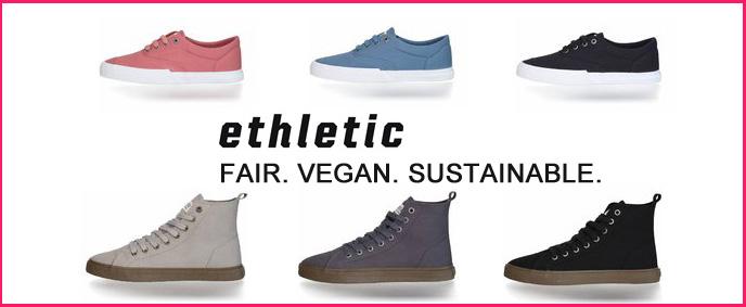 Ethletic schoenen fairtrade eco duurzame