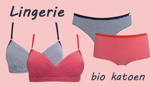 lingerie bio katoen dames ondergoed
