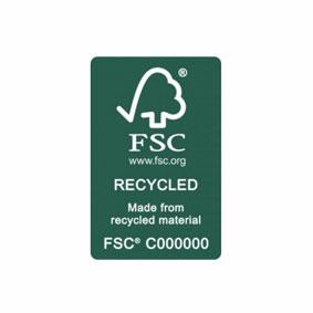 fsc recycled logo