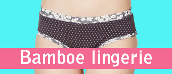 bamboe lingerie dames ondergoed