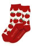 Bio-katoenen sokken met rode appeltjes_