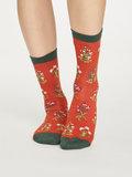 Bamboe sokken sylvan terracotta_