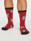 bamboe sokken rood