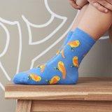 Kindersokken 2 paar vrolijke Bio-katoenen sokken  met dieren_