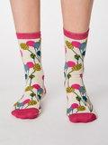 Bamboe sokken Nettie cream_