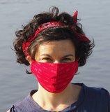 mondmasker rood