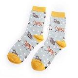 Cadeaudoos met 3 paar sokken kitty family_