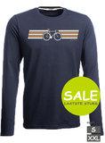 t-shirt fiets print eco bio katoen