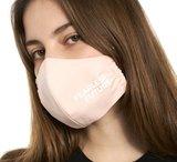 Mondmasker zacht roze Fearless Future _