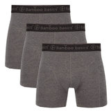 bamboe boxershort grijs