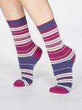 sokken gestreept