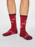 sokken met fiets print