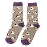 sokken ooievaar print
