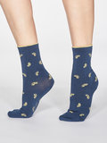 jeans blauwe sokken
