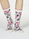 sokken wit met print