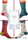 bamboe kerst sokken cadeau
