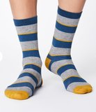 Bamboe Elfield sokken grijs_