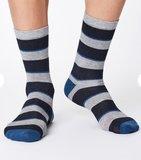 Bamboe Elfield sokken navy_