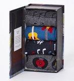 Bamboesokken set van 4 paar in cadeau doos Muziek_