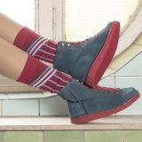 Bio katoenen sokken Cheerleader berry_