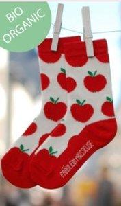 sokken met appeltjes