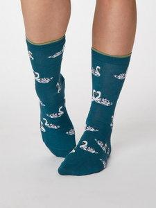 Bamboe sokken zwaan lagoon