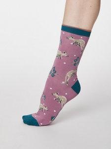 Bamboe dames sokkenpakket kangoeroes / koala
