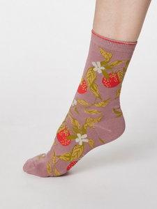 Bamboe sokken Frutta rose pink