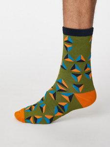 geometrico bamboe sokken