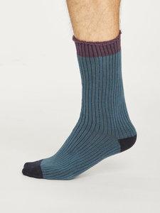 ink blue walker sokken