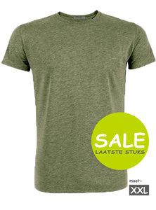 Duurzaam T shirt kaki