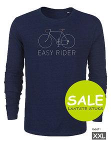 sale Duurzaam longsleeve shirt Indigo Easy Rider