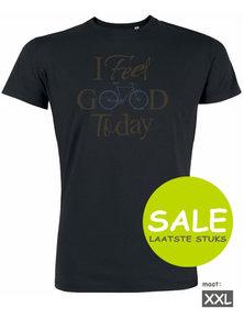 Sale duurzaam T shirt bike I feel good today