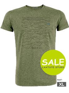 bergen print shirt heren