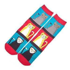 sokken met katten prints