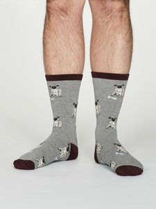 bamboe sokken met hond