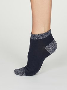 indigo blue sokken