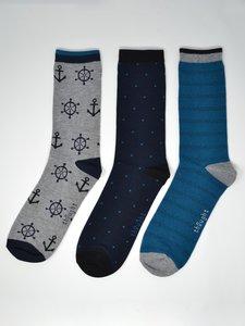 Walter 3 paar bamboe heren sokken